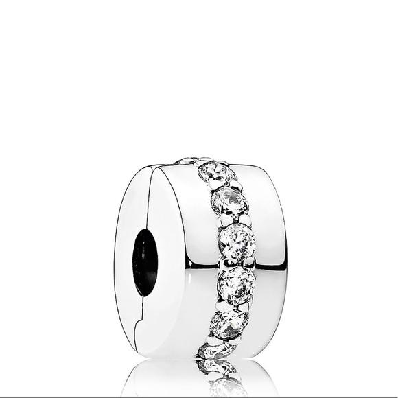 Pandora Jewelry - Pandora Sterling Silver&CZ Shining Clip